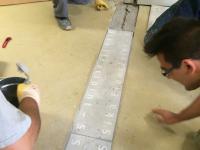 Einbau Sika FloorJoint