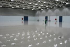 Fertige Beschichtung, Bodenbeschichtung, Hallenbeschichtung